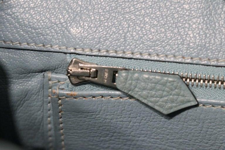 Hermès Blue Ciel Togo 30 cm Birkin Bag 2