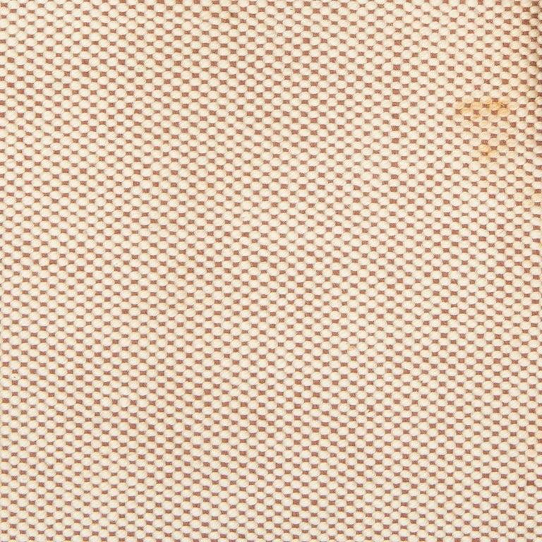 HERMES Blue Marine Box leather & Toile H DRAG 30 Bag VINTAGE For Sale 4