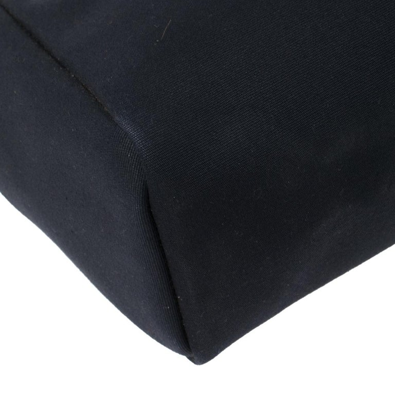 Hermes Blue Marine/Saphir Canvas and Leather Herbag Zip 31 Bag 3