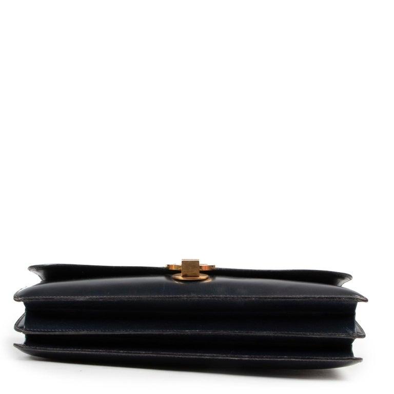 Women's or Men's Hermès Blue Vintage Ring  Bag For Sale