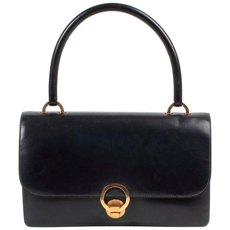 Hermès Blue Vintage Ring  Bag For Sale