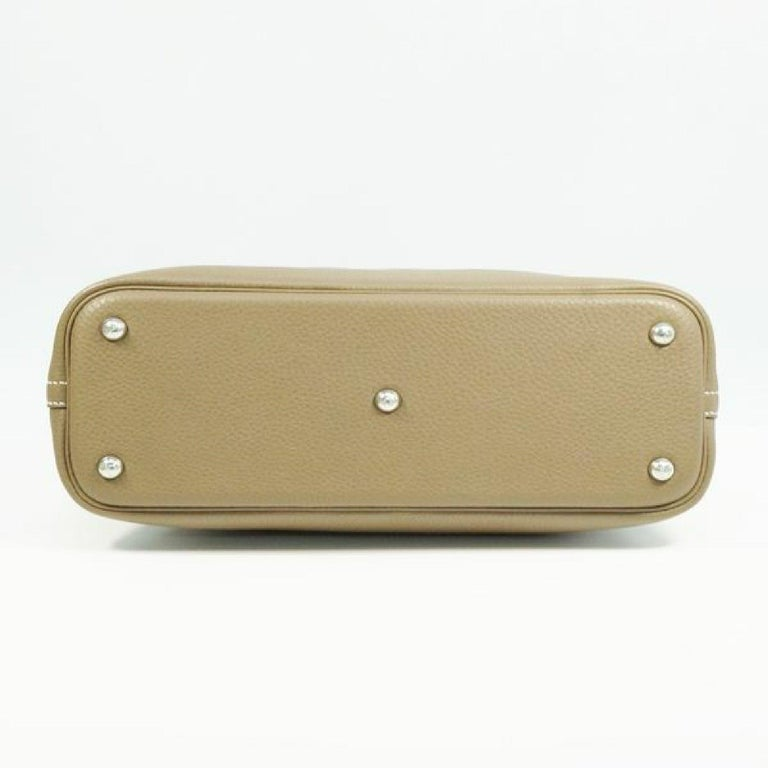 HERMES Boledo31 Womens handbag Etooope x silver hardware In Excellent Condition For Sale In Takamatsu-shi, JP