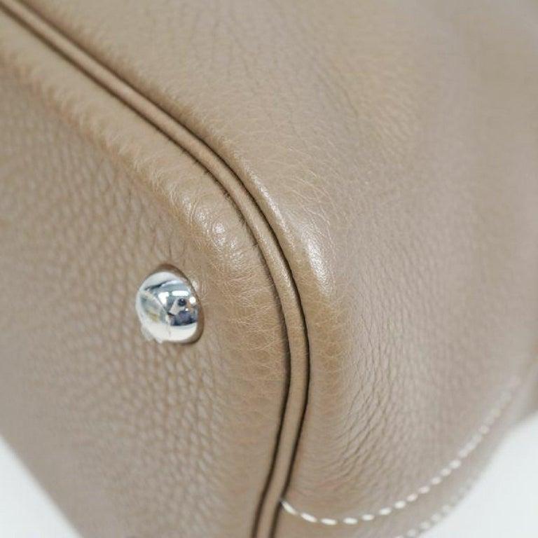 Women's HERMES Boledo31 Womens handbag Etooope x silver hardware For Sale
