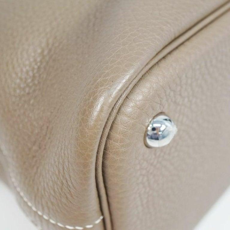 HERMES Boledo31 Womens handbag Etooope x silver hardware For Sale 1