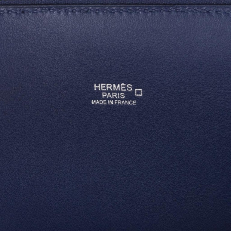 Hermes Bolide 1923 35 Au Bout Du Monde Bag Limited Edition For Sale 8