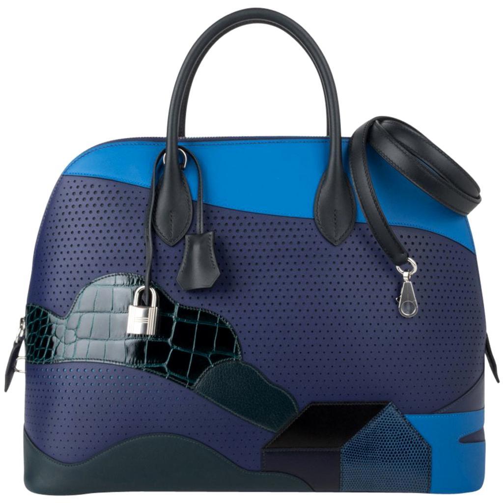 Hermes Bolide 1923 35 Au Bout Du Monde Bag Limited Edition