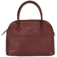 Hermès Bolide 27 Epsom Rouge H