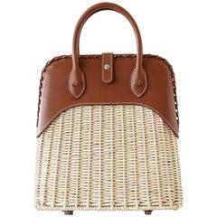 Hermes Bolide Picnic Osier Bag Wicker Barenia Limited Edition