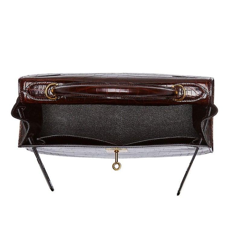 Hermès Bordeaux 28cm Kelly bag In Excellent Condition In London, GB