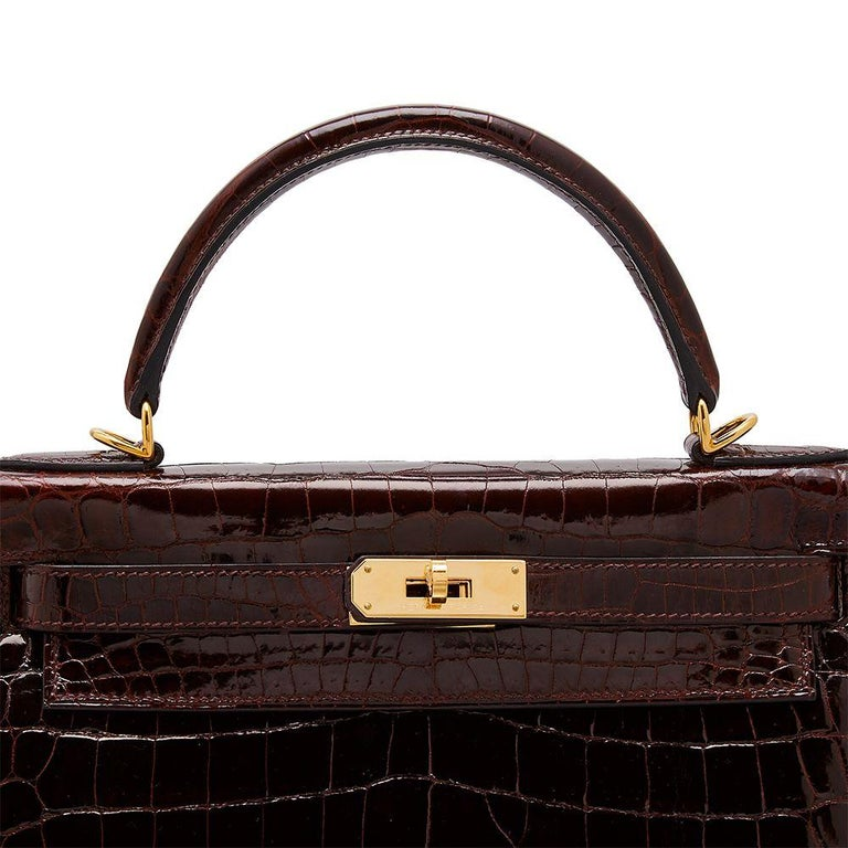 Women's Hermès Bordeaux 28cm Kelly bag