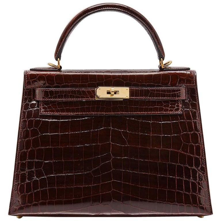 Hermès Bordeaux 28cm Kelly bag