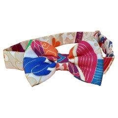 Hermès Bow Tie in Silk