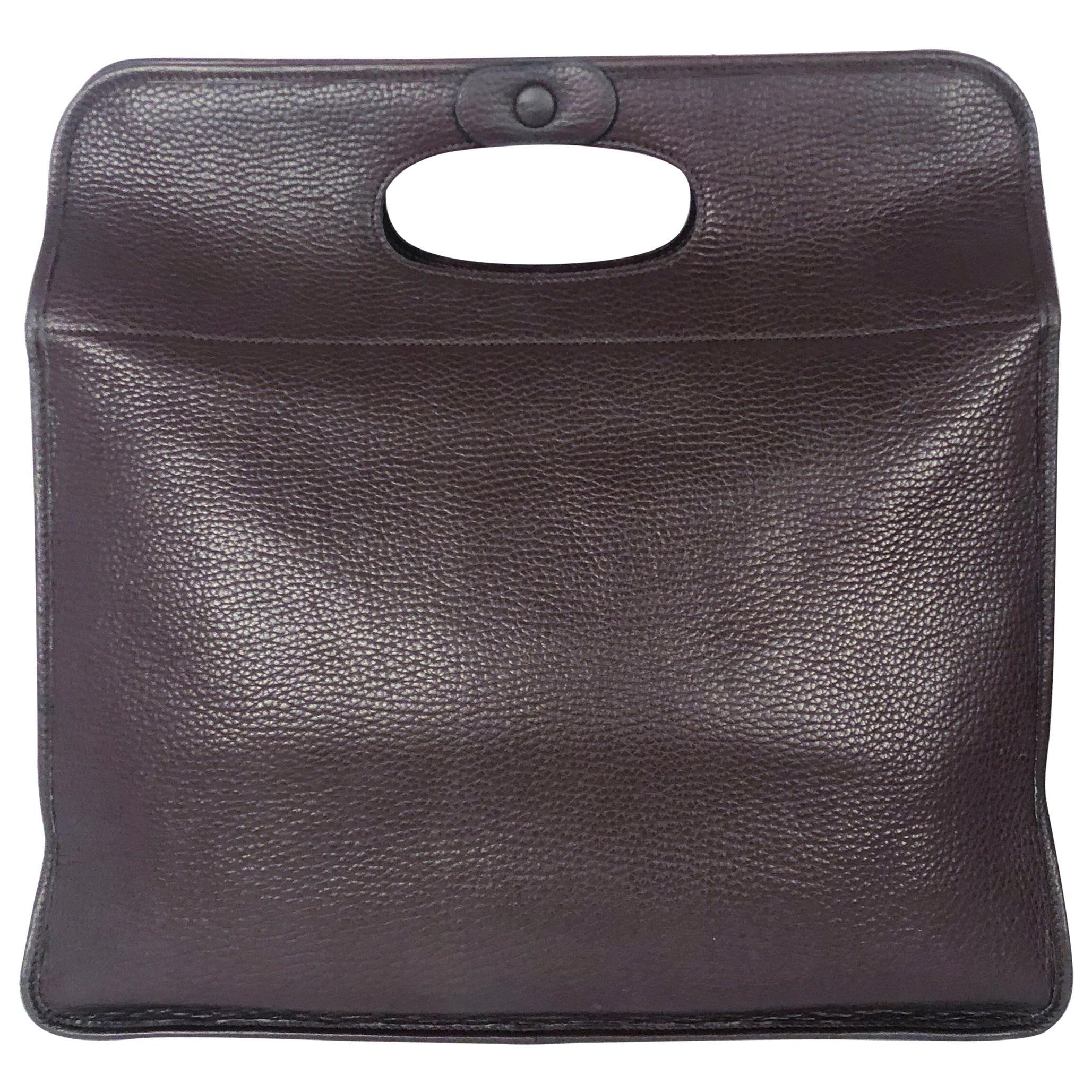 Hermès Brown Leather Tote