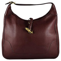 HERMES Brown Trim Bag
