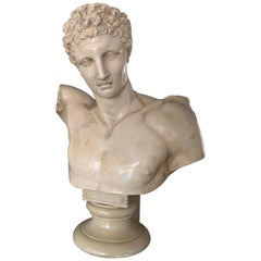 Hermes Bust from Olympia Cast by the Micheli Brothers, Berlin around 1900