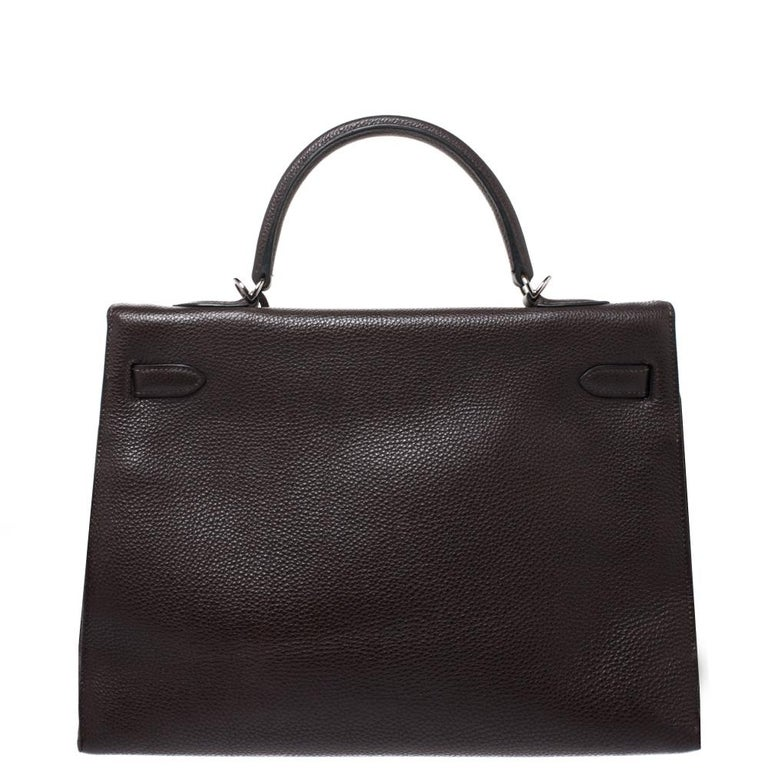 Your wait to own a Hermes Kelly Sellier is now over! Inspired by none other than Grace Kelly of Monaco, Hermes Kelly is carefully hand-stitched to perfection. The Maison doesn't fail to impress us with this piece. The Sellier has a beautiful look