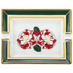 Hermes Camelia Flower Porcelaine Ashtray
