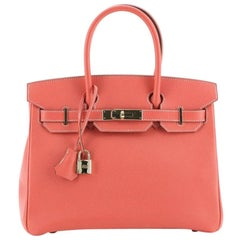 Hermes Candy Birkin Handbag Epsom 30
