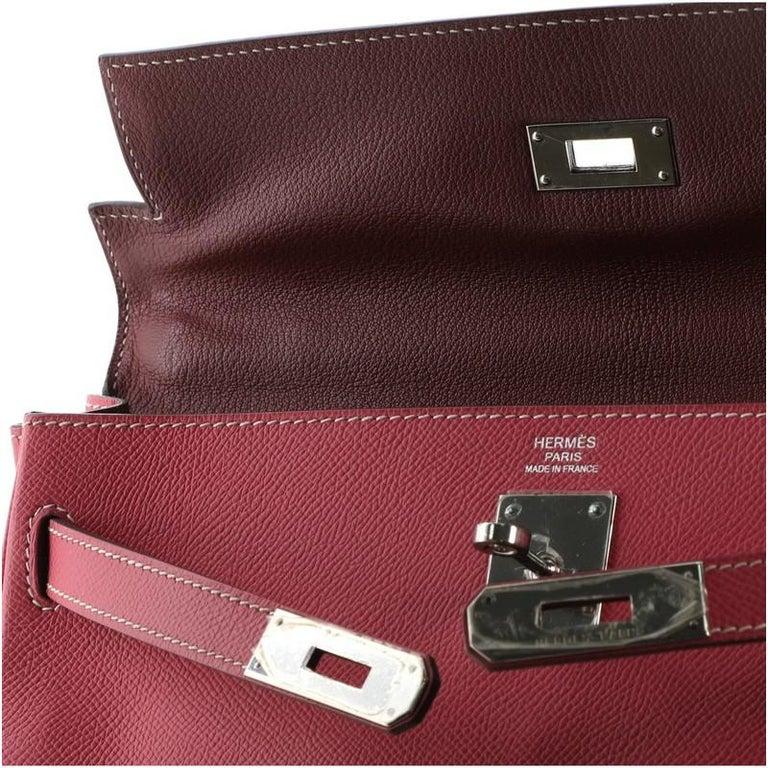 Hermes Candy Kelly Handbag Epsom 32 5