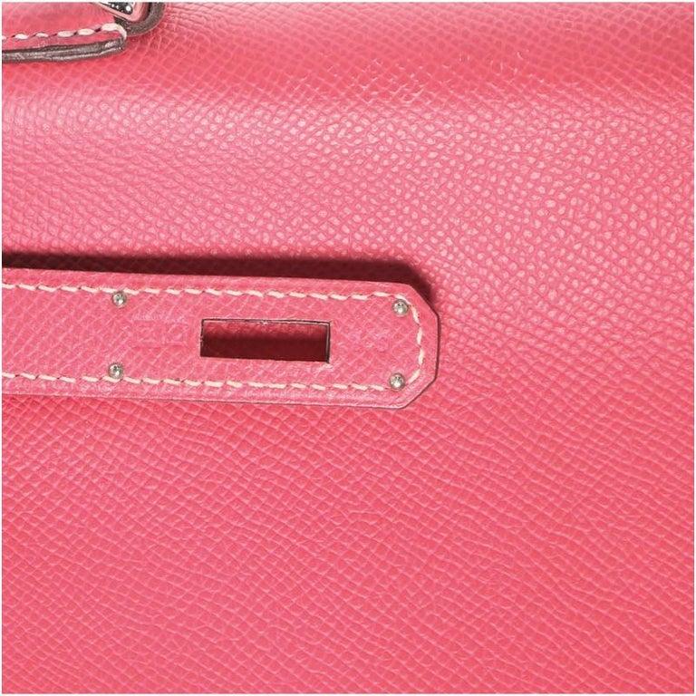 Hermes Candy Kelly Handbag Epsom 32 6