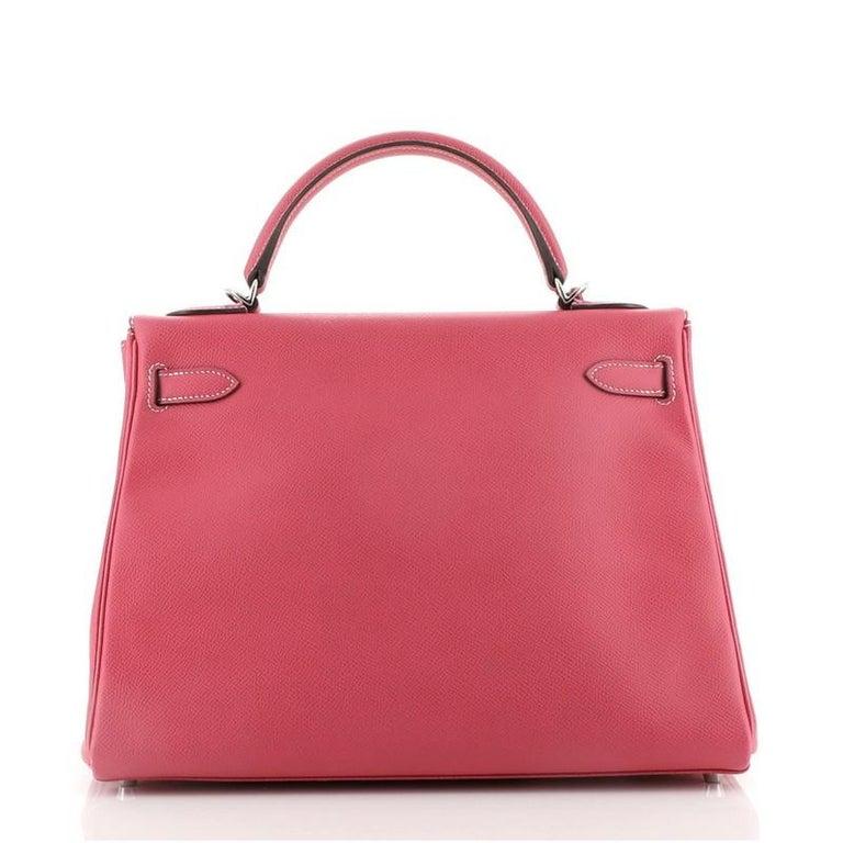 Hermes Candy Kelly Handbag Epsom 32 In Good Condition In New York, NY