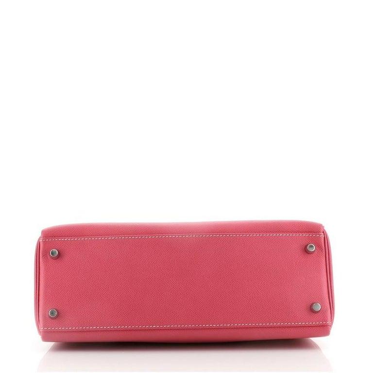 Women's Hermes Candy Kelly Handbag Epsom 32