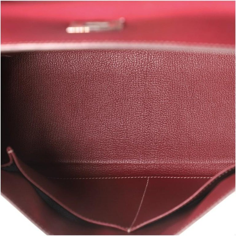 Hermes Candy Kelly Handbag Epsom 32 1