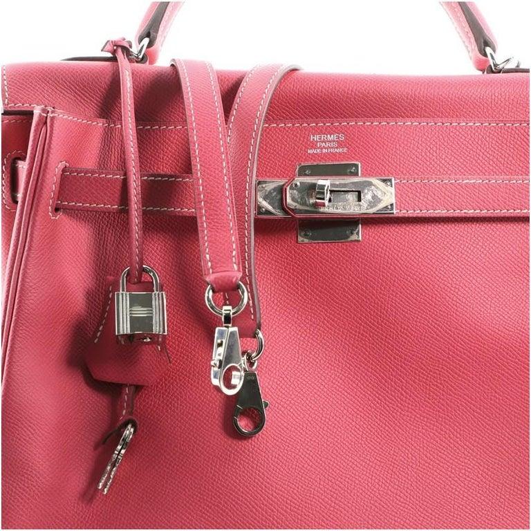 Hermes Candy Kelly Handbag Epsom 32 2