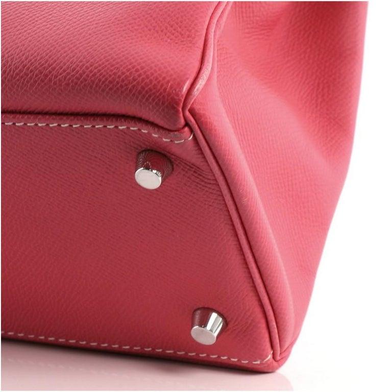 Hermes Candy Kelly Handbag Epsom 32 3