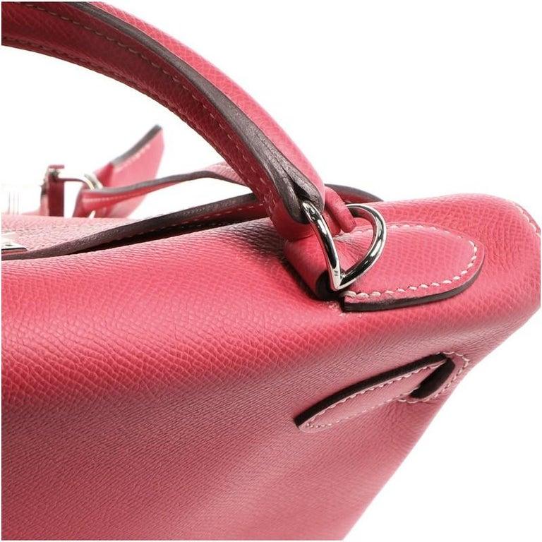 Hermes Candy Kelly Handbag Epsom 32 4