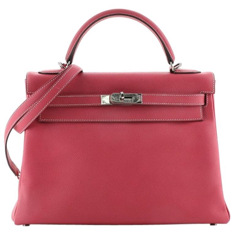 Hermes Candy Kelly Handbag Epsom 32