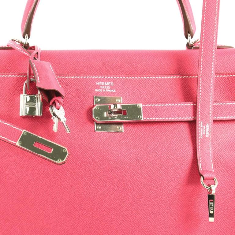 Women's Hermes Candy Kelly Handbag Epsom 35