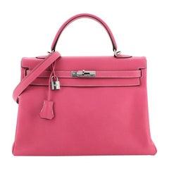 Hermes Candy Kelly Handbag Epsom 35
