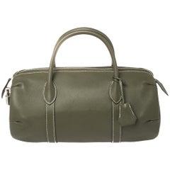 Hermes Canopee Swift Leather Polochon 30 Bag