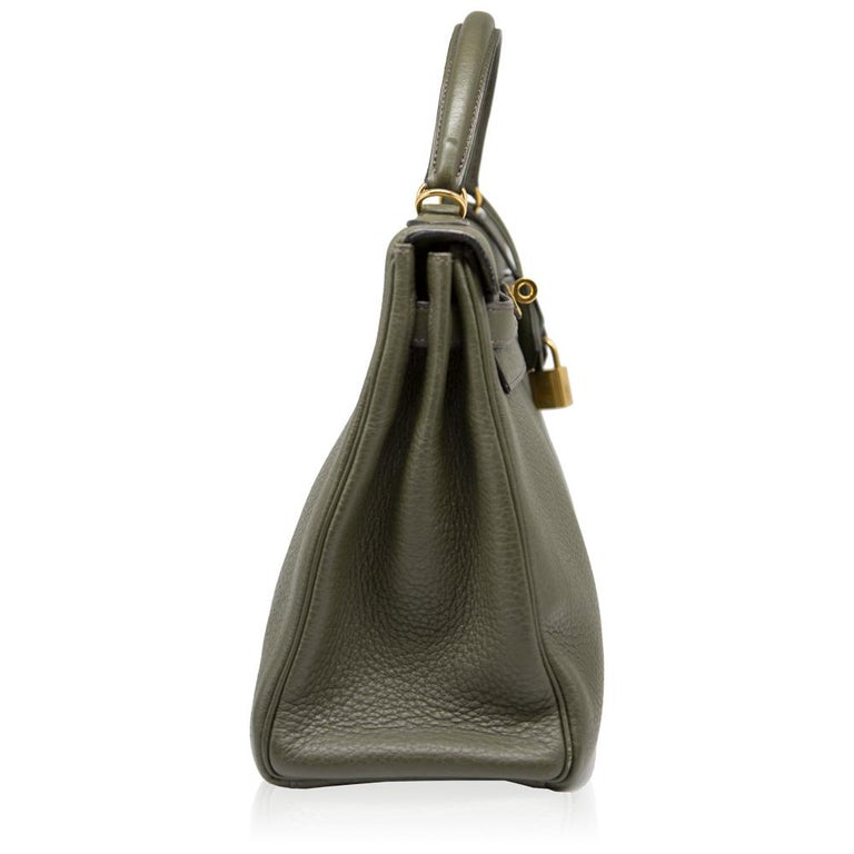 Hermes Canopee Togo Leather 32cm Kelly Bag For Sale 1