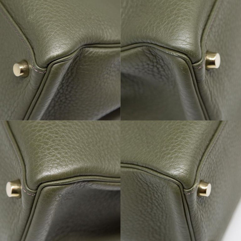 Hermes Canopee Togo Leather 32cm Kelly Bag For Sale 3