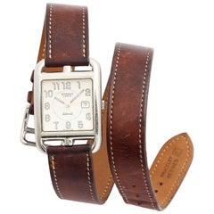 Hermès Cape Cod Automatic Brown Double Strap Watch