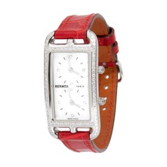 Hermès Cape Cod CC3-230, White Dial, Certified and Warranty