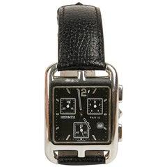 Hermes Cape Cod Man Chrono Steel Watch