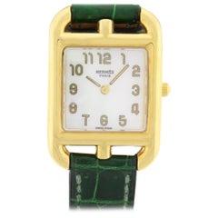 Hermes Cape Cod Quartz Gold Ladies Watch