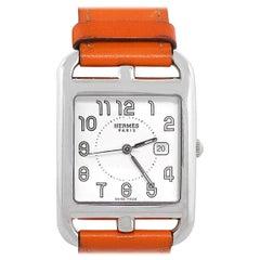 Hermes Cape Cod Silver Dial Ladies Watch