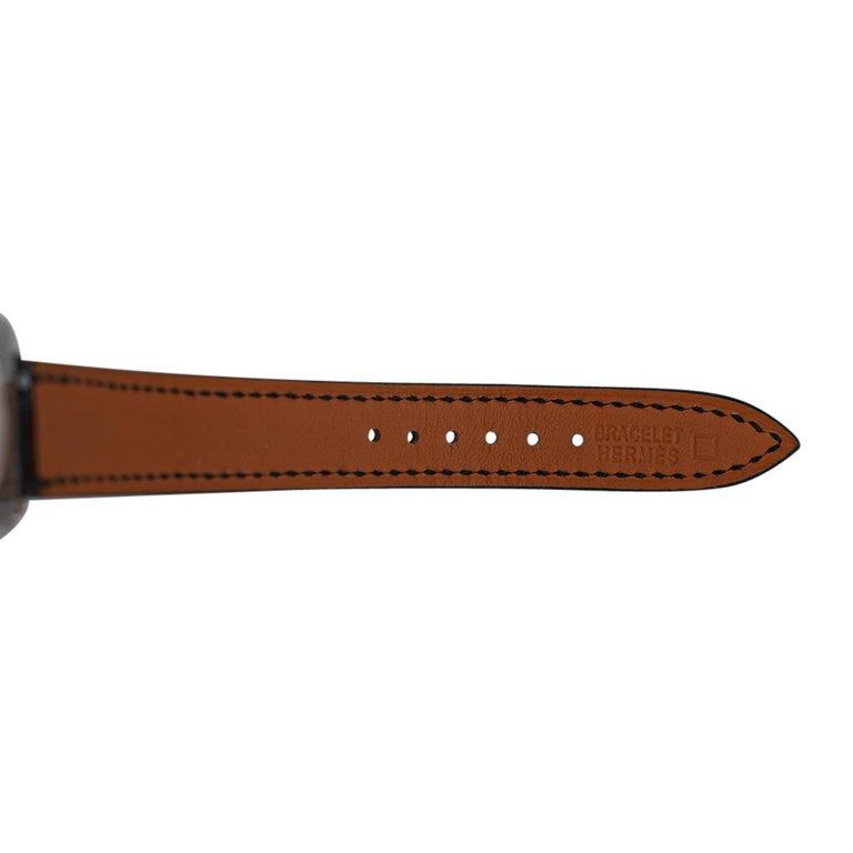 Hermes Cape Cod Timepiece Diamond Watch New w/Box For Sale 6