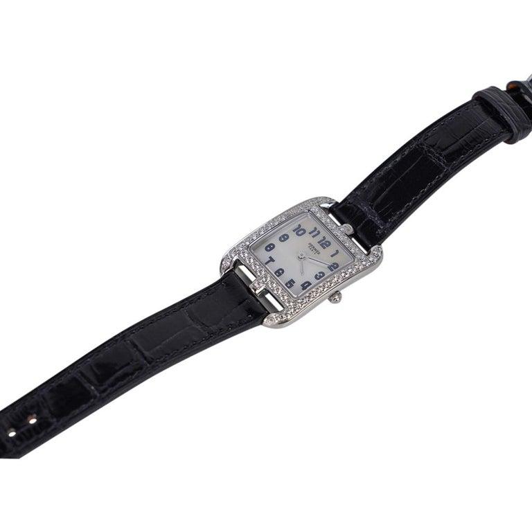 Hermes Cape Cod Timepiece Diamond Watch New w/Box For Sale 1