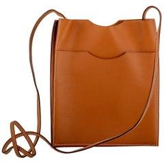 Hermès Caramel Swift Crossbody Bag