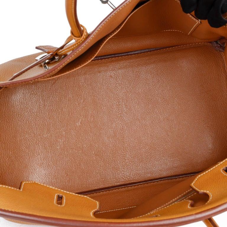 Hermès Caramel Togo Leather Birkin 35cm For Sale 5