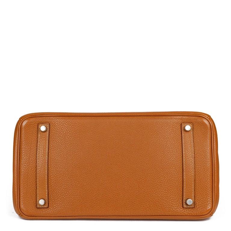 Hermès Caramel Togo Leather Birkin 35cm For Sale 1