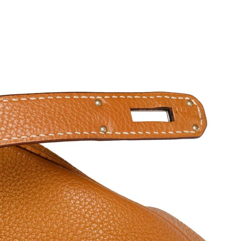 Hermès Caramel Togo Leather Birkin 35cm For Sale 4