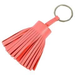 HERMES Carmen key ring Womens key holder pink