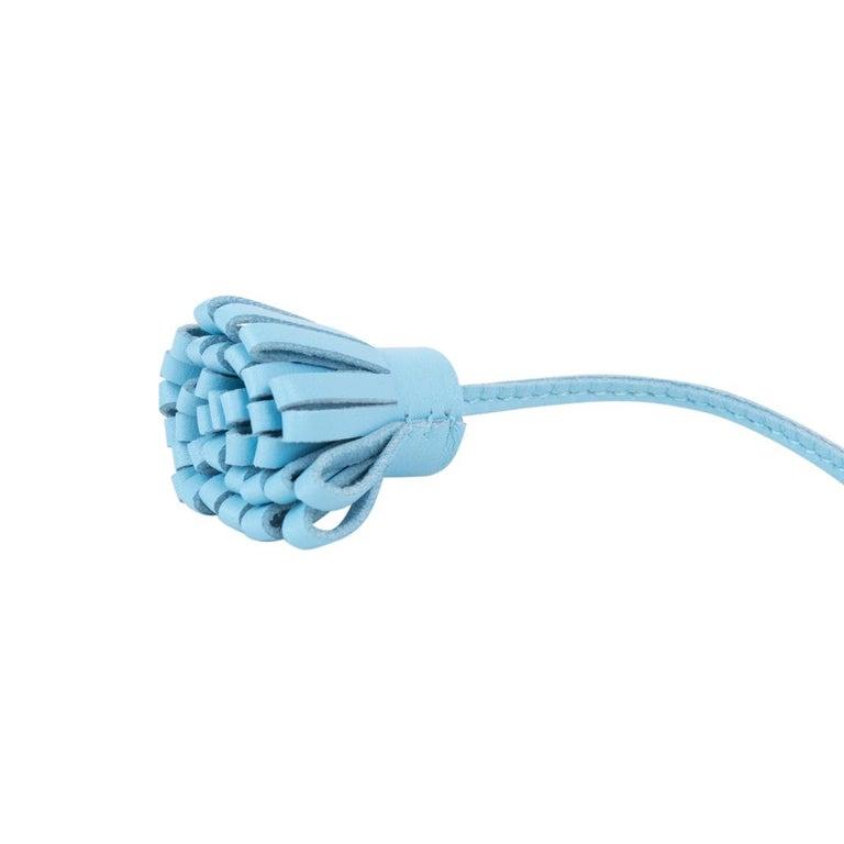 Women's or Men's Hermes Carmencita Page Marker Blue Celeste Medium Model For Sale