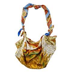Hermes Carpe Diem & Chasse en Inda Silk Scarf Bag
